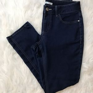 Riders by Lee Midrise Skinny Dark Wash Jean's 12P